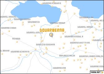 map of Douar Berna