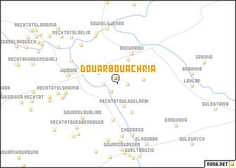 map of Douar Bou Achria