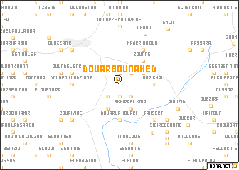 map of Douar Bou Nahed