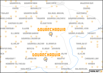 map of Douar Chaouia
