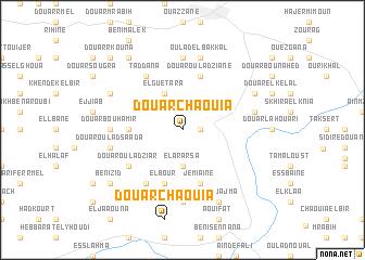 map of Douar Chaouia