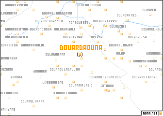 map of Douar Daouna