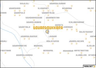 map of Douar Doukkara