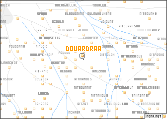 map of Douar Drâa