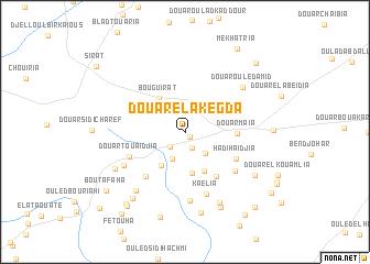 map of Douar el Akegda