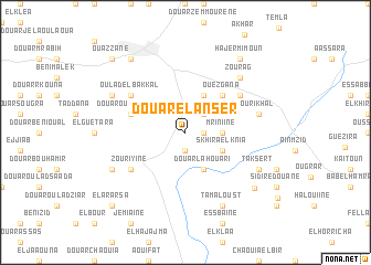 map of Douar el Anser