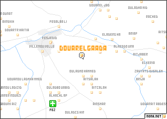 map of Douar el Gaada