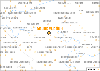 map of Douar el Goum