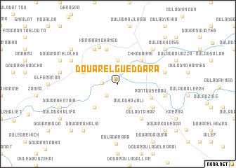 map of Douar el Gueddara