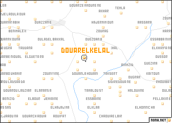 map of Douar el Kelal
