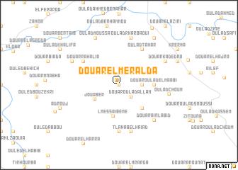map of Douar el Meralda
