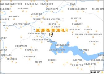 map of Douar en Nouala