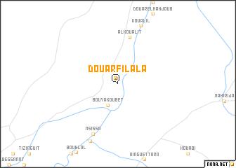 map of Douar Filala