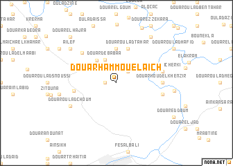 map of Douar Hammou el Aïch