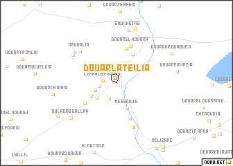 map of Douar Lateïlia