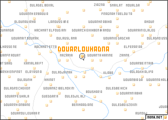 map of Douar Louhadna