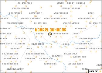 map of Douar Louhadna