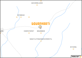 map of Douar Maati