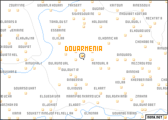 map of Douar Menia