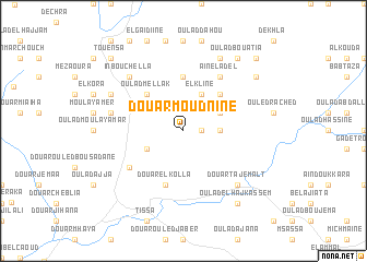 map of Douar Moudnine