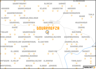 map of Douar Nefza