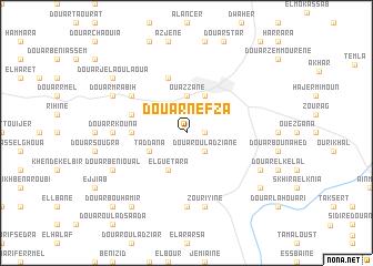 map of Douar Nefza