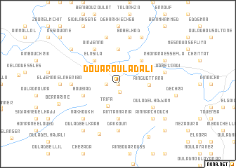 map of Douar Oulad Ali