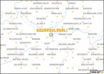 map of Douar Oulad Ali