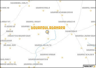 map of Douar Oulad Amara