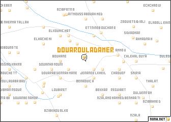 map of Douar Oulad Amer