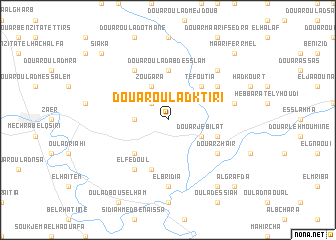 map of Douar Oulad Ktiri