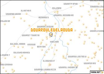 map of Douar Ouled el Aouda