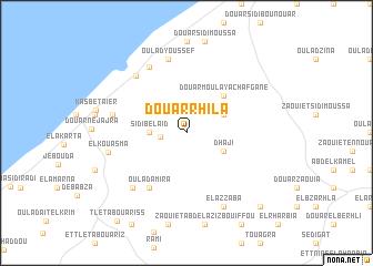 map of Douar Rhila