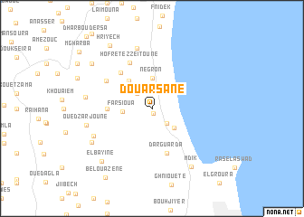 map of Douar Sane