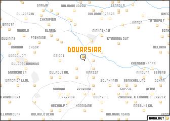 map of Douar Siar