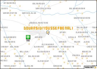 map of Douar Sidi Youssef Ben Ali