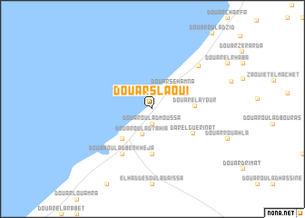 map of Douar Slaoui