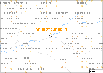 map of Douar Tajemalt