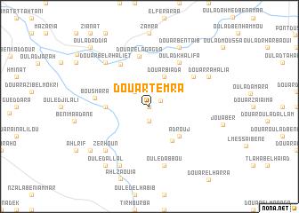 map of Douar Temra