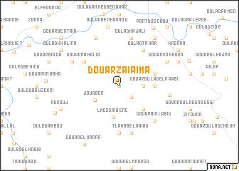 map of Douar Zaïaïma
