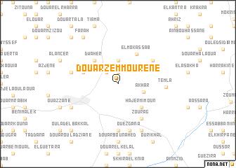 map of Douar Zemmourene