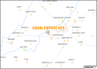 map of Double Branches