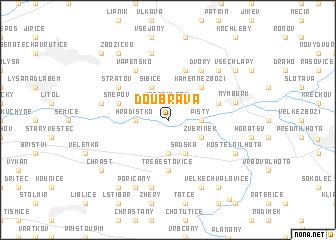 map of Doubrava