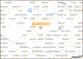 map of Doubravice