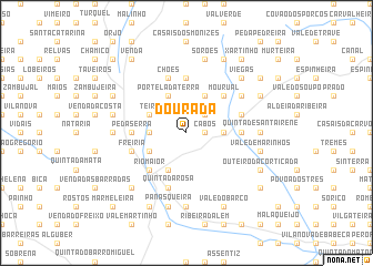 map of Dourada