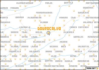 map of Douro Calvo