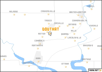 map of Douthat