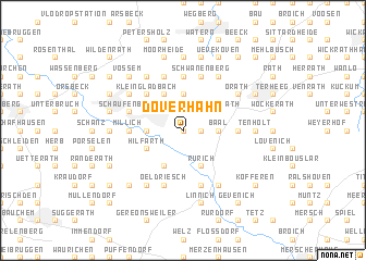map of Doverhahn