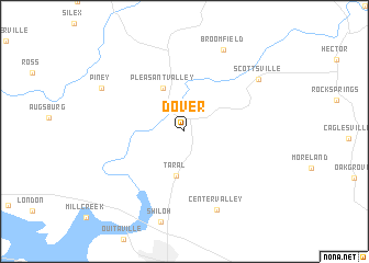 map of Dover