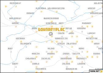 map of Downary-Plac